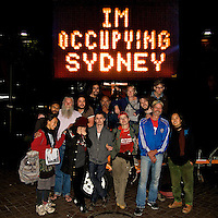 Occupy Sydney GA, Martin Place 10.10.12