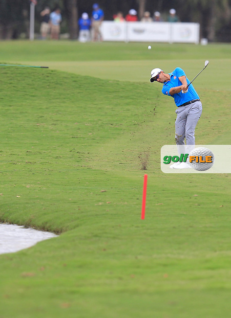 Adam Scott (AUS) during the final round of the WGC Cadillac Championship, Blue Monster, Trump National Doral, Doral, Florida, USA<br /> Picture: Fran Caffrey / Golffile