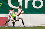 Madrid (03/03/2012).-Campo de Futbol de Vallecas..Liga BBVA..Rayo Vallecano-Real Racing Club..Gol de Michu...©Alex Cid-Fuentes.......