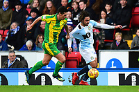 Blackburn Rovers' Bradley Dack is challenged by West Bromwich Albion's Gareth Barry<br /> <br /> Photographer Richard Martin-Roberts/CameraSport<br /> <br /> The EFL Sky Bet Championship - Blackburn Rovers v West Bromwich Albion - Tuesday 1st January 2019 - Ewood Park - Blackburn<br /> <br /> World Copyright &not;&copy; 2019 CameraSport. All rights reserved. 43 Linden Ave. Countesthorpe. Leicester. England. LE8 5PG - Tel: +44 (0) 116 277 4147 - admin@camerasport.com - www.camerasport.com