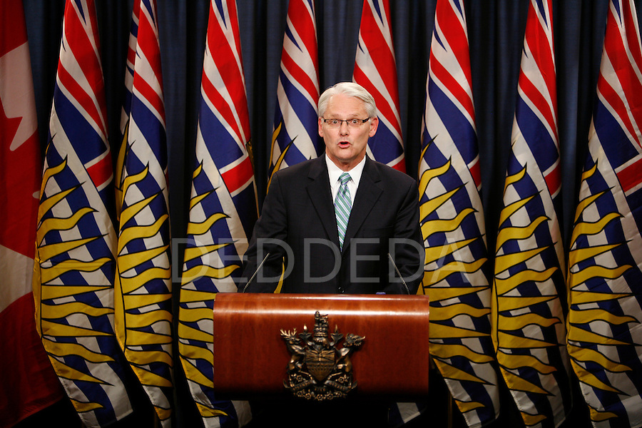 british columbia bc premier gordon campbell