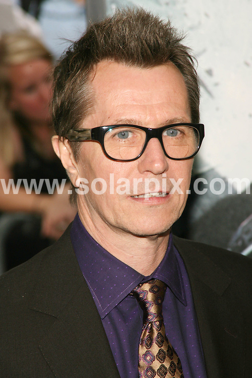 **ALL ROUND PICTURES FROM SOLARPIX.COM**.**SYNDICATION RIGHTS FOR UK, SPAIN, PORTUGAL, AUSTRALIA, S.AFRICA & DUBAI (U.A.E) ONLY**.The Dark Knight World Premiere  Arrivals  at AMC Loews Lincoln Square in 68th Street and Broadway in New York in the USA. The IMAX Experience, .This pic:Gary Oldman..JOB REF:6830-PHZ/Sylvain Gaboury    DATE:14_07_08 .**MUST CREDIT SOLARPIX.COM OR DOUBLE FEE WILL BE CHARGED* *UNDER NO CIRCUMSTANCES IS THIS IMAGE TO BE REPRODUCED FOR ANY ONLINE EDITION WITHOUT PRIOR PERMISSION*