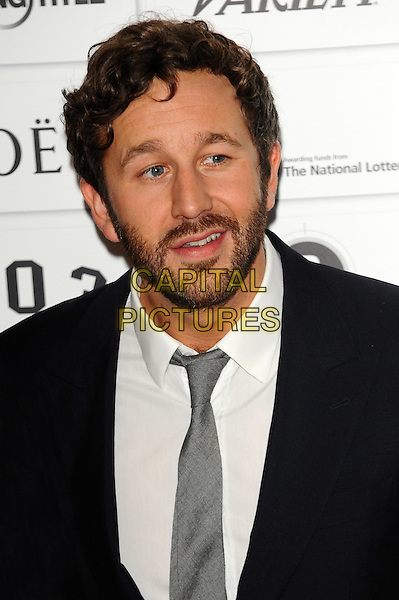 Chris O'Dowd.The 14th Moet British Independent Film Awards 2011, Old Billingsgate, London, England..December 4th, 2011.headshot portrait white shirt grey gray tie black suit beard facial hair  .CAP/CJ.©Chris Joseph/Capital Pictures.