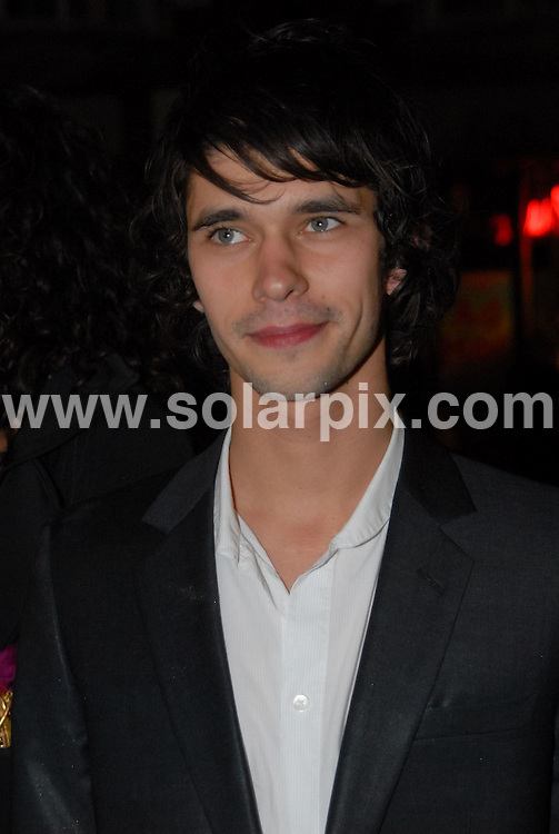 **ALL ROUND PICTURES FROM SOLARPIX.COM**.**WORLDWIDE SYNDICATION RIGHTS**.Cast and crew were at Chelsea's Bluebird Restaurant for the pre-premiere party of the new film version of Evelyn Waugh's 'Brideshead Revisited', London, UK. 29th September 2008..This pic: Ben Wishaw..JOB REF: 7487 BTT     DATE: 29_09_2008.**MUST CREDIT SOLARPIX.COM OR DOUBLE FEE WILL BE CHARGED* *UNDER NO CIRCUMSTANCES IS THIS IMAGE TO BE REPRODUCED FOR ANY ONLINE EDITION WITHOUT PRIOR PERMISSION*