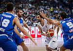 Kosarka-Basketball<br /> Srbija v Grcka-Prijateljski Mec<br /> Milos Teodosic (C) Stratos Perperoglou (R)<br /> Beograd, 28.06.2016.<br /> foto: Srdjan Stevanovic/Starsportphoto &copy;