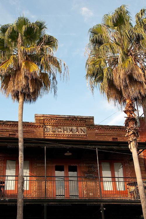 The Buchman building, Ybor City, Tampa, Florida, USA.