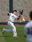 Reno Aces and Fresno Grizzlies action in Reno, Nev., on Monday, April 9, 2018. <br /> Photo by Cathleen Allison/Nevada Momentum