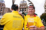 10TH OCT 2006, UKRAINE V SCOTLAND, SCOTLAND'S TARTAN ARMY FANS IN KIEV PRE MATCH, ROB CASEY PHOTOGRAPHY.