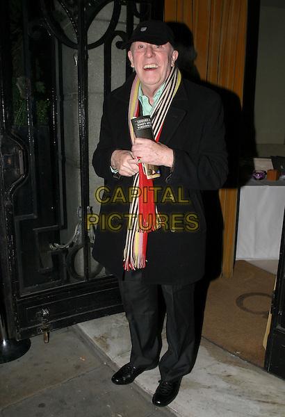 RICHARD WILSON.Who's Afraid of Virginia Woolf? - Press Night,.London, England, .January 31st 2006..full length scarf hat cap.Ref: AH.www.capitalpictures.com.sales@capitalpictures.com.©Adam Houghton/Capital Pictures.