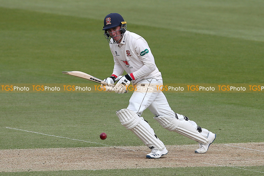 Daniel Lawrence in batting action for Essex during Surrey CCC vs Essex CCC, Specsavers County Championship Division 1 Cricket at the Kia Oval on 12th April 2019