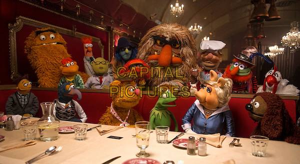 SCENE<br /> in Muppets Most Wanted (2014) <br /> *Filmstill - Editorial Use Only*<br /> CAP/NFS<br /> Image supplied by Capital Pictures