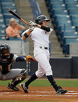 May 24, 2010 Outfielder Jack Rye of the Tampa Yankees during a game at George M Steinbrenner Field in Tampa, FL. Tampa is the Florida State League High Class-A affiliate of the New York Yankees. Photo By Mark LoMoglio/Four Seam Images