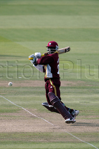 10 July 2004: West Indian batsman Devon Smith batting during the Natwest Series final between the West Indies and New Zealand at Lords. New Zealand won by 107 runs. Photo: Neil Tingle/Actionplus..040710 man men cricket cricketer