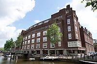 Nederland - Amsterdam - 2020. Oudezijds Voorburgbal. Hotel Sofitel Legend The Grand.  Foto Berlinda van Dam / ANP /  Hollandse Hoogte.