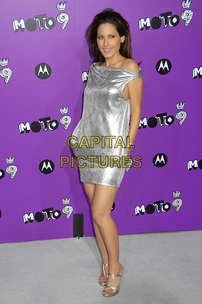 KERRI KASEM.9th Annual Motorola in Hollywood Party at The Lot, West Hollywood, California, USA, 8 November 2007..full length silver dress pockets.CAP/ADM/BP .©Byron Purvis/AdMedia/Capital Pictures.