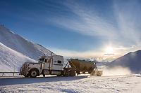 Atigun Pass, Brooks Range, James Dalton Highway, Alaska.