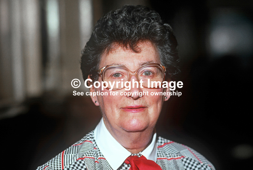 Joan Maynard, MP, Labour Party, UK, 19860928JM<br />