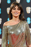 www.acepixs.com<br /> <br /> February 12 2017, London<br /> <br /> Penelope Cruz arriving at the 70th EE British Academy Film Awards (BAFTA) at the Royal Albert Hall on February 12, 2017 in London, England<br /> <br /> By Line: Famous/ACE Pictures<br /> <br /> <br /> ACE Pictures Inc<br /> Tel: 6467670430<br /> Email: info@acepixs.com<br /> www.acepixs.com