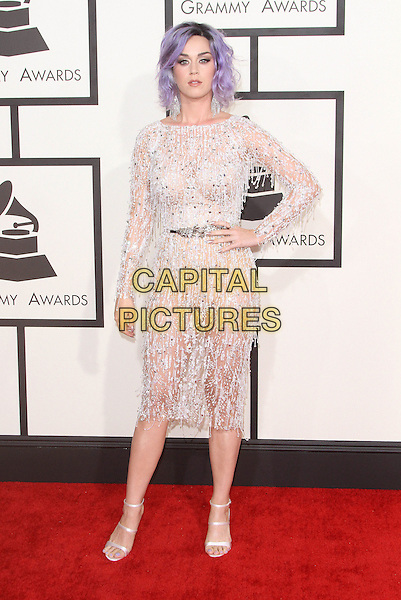08 February 2015 - Los Angeles, California - Katy Perry. 57th Annual GRAMMY Awards held at the Staples Center.<br /> CAP/ADM<br /> &copy;AdMedia/Capital Pictures