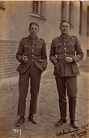 BNPS.co.uk (01202 558833)<br /> Pic: Bosleys/BNPS<br /> <br /> The officers were even allowed out during the day, as long as they promised to return by evening...<br /> <br /> The stark contrast between the relative life of luxury enjoyed by captured Tommies of the First World War to the hell of the trenches they left behind can be revealed in a remarkable archive.<br /> <br /> It seems that being taken prisoner was a blessing in disguise judging by the gallery of photos that show the British officers leading a very civilised life at a German PoW camp.<br /> <br /> There was a gentlemen's agreement in place which would see the detainees allowed outside the camp during the day as long as they returned by the evening.<br /> <br /> The archive of Lieutenant Charles Mayo, which includes three of his First World War medals, is being sold by Bosley's auctioneers of Marlow, Bucks on Wednesday.