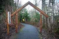 Discovery Trail Entrance, Ilwaco, Washington, US