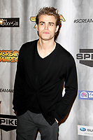 LOS ANGELES - OCT 15:  Paul Wesley at the Scream Awards 2011 at the Universal Studios on October 15, 2011 in Los Angeles, CA
