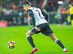 Mario Suarez Mata of Valencia CF runs with the ball during the La Liga 2017-18 match between Valencia CF and FC Barcelona at Estadio de Mestalla on November 26 2017 in Valencia, Spain. Photo by Maria Jose Segovia Carmona / Power Sport Images