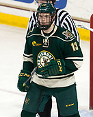 Liam Coughlin (UVM - 13) - The Boston College Eagles defeated the University of Vermont Catamounts 7-4 on Saturday, March 11, 2017, at Kelley Rink to sweep their Hockey East quarterfinal series.The Boston College Eagles defeated the University of Vermont Catamounts 7-4 on Saturday, March 11, 2017, at Kelley Rink to sweep their Hockey East quarterfinal series.