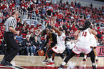LOUISVILLE, KY - DECEMBER 1: Maryland Terrapins battle the Louisville Cardinals at KFC YUM! Center on December 1, 2016 in Louisville, Kentucky. (Photo by Joe Robbins)