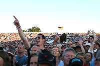 CHRISTCHURCH, NEW ZEALAND - FEBRUARY 21:  A general view of the crowd at Bruce Springteen and the E Street Band Summer 17 Tour at AMI Stadium on February 21, 2017 in Christchurch, New Zealand.  (Photo by Dianne Manson/Getty Images)