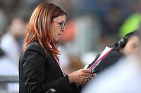 Elisabetta Caporale of Rai is seen during the IAAF Diamond League Golden Gala <br /> Roma 06-06-2019 Stadio Olimpico, <br /> Meeting Atletica Leggera <br /> Photo Andrea Staccioli / Insidefoto