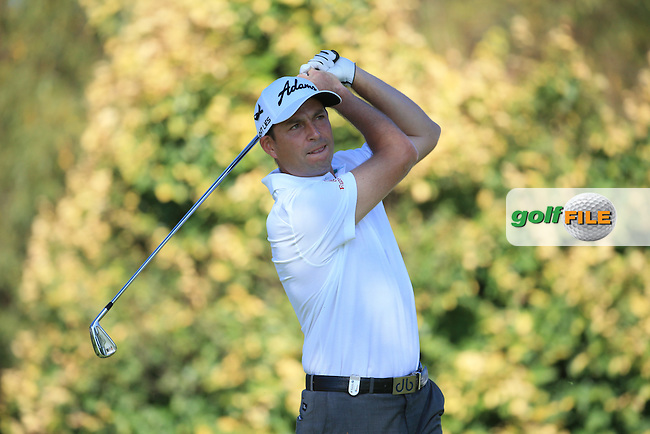 David Howell (ENG) in action during the completion of Round Two of the 2016 BMW SA Open hosted by City of Ekurhuleni, played at the Glendower Golf Club, Gauteng, Johannesburg, South Africa.  09/01/2016. Picture: Golffile   David Lloyd<br /> <br /> All photos usage must carry mandatory copyright credit (&copy; Golffile   David Lloyd)