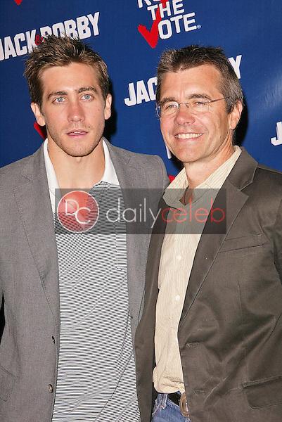Jake Gyllenhaal and father Stephen Gyllenhaal