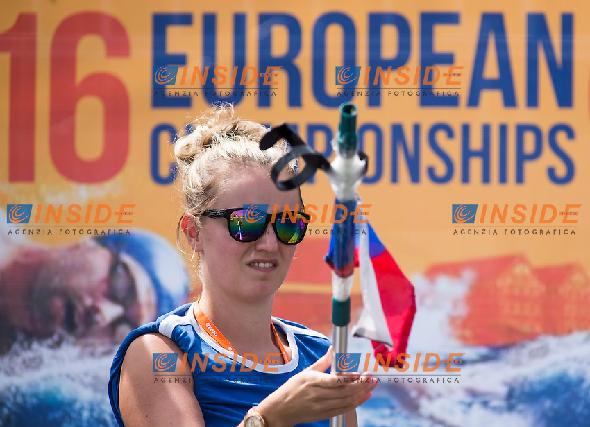 Feeding Pontoon<br /> Hoorn, Netherlands <br /> LEN 2016 European Open Water Swimming Championships <br /> Open Water Swimming<br /> Men's 10km<br /> Day 01 10-07-2016<br /> Photo Giorgio Perottino/Deepbluemedia/Insidefoto