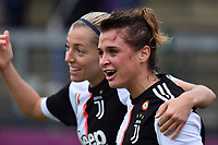 Cristiana Girelli (Juventus) celebring after score the goal<br /> <br /> <br /> Roma 24/11/2019 Stadio Tre Fontane <br /> Football Women Serie A 2019/2020<br /> AS Roma - Juventus <br /> Photo Andrea Staccioli / Insidefoto