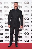 LONDON, UK. September 05, 2018: Luke Evans at the GQ Men of the Year Awards 2018 at the Tate Modern, London