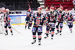 S&ouml;dert&auml;lje 2014-10-23 Ishockey Hockeyallsvenskan S&ouml;dert&auml;lje SK - Malm&ouml; Redhawks :  <br /> S&ouml;dert&auml;ljes Robert Carlsson deppar med lagkamrater efter matchen mellan S&ouml;dert&auml;lje SK och Malm&ouml; Redhawks <br /> (Foto: Kenta J&ouml;nsson) Nyckelord: Axa Sports Center Hockey Ishockey S&ouml;dert&auml;lje SK SSK Malm&ouml; Redhawks depp besviken besvikelse sorg ledsen deppig nedst&auml;md uppgiven sad disappointment disappointed dejected