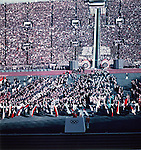 Takashi Ono (JPN),<br /> OCTOBER 10, 1964 - Opening Ceremony : Takashi Ono takes the Olympic Oath during the Opening Ceremony of 1964 Tokyo Olympic Games at National Stadium in Tokyo, Japan.<br /> (Photo by Shinichi Yamada/AFLO) [0348]