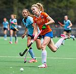 BLOEMENDAAL - Josien Galama (Bl'daal)   , 2e play out wedstrijd tussen Bloemendaal-HGC dames (2-0). COPYRIGHT KOEN SUYK
