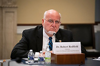 Dr. Robert Redfield, Director of the Centers for Disease Control and Prevention, speaks during a US House Appropriations Subcommittee hearing on Capitol Hill in Washington, D.C., U.S., on Thursday, June 4, 2020. <br /> Credit: Al Drago / Pool via CNP/AdMedia