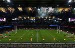 Pyro1  Twickenham  Harlequins vs Northants  27th December 2014<br /> <br /> Photo: Richard Washbrooke Sports Photography