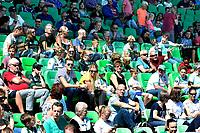 GRONINGEN - Voetbal, Open dag FC Groningen ,  seizoen 2017-2018, 06-08-2017,  goed bezette tribune bij de presentatie
