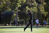 9th February 2018, Lake Karrinyup Country Club, Karrinyup, Australia; ISPS HANDA World Super 6 Perth golf, second round; Thorbjorn Olesen (DEN) plays a shot from the fairway