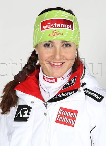 16.10.2010  Winter sports OSV Einkleidung Innsbruck Austria. Ski Alpine OSV Austrian Ski Federation. Picture shows Elisabeth Goergl AUT
