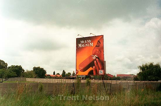 &quot;Me and My Magnum&quot; suggestive billboard.<br />
