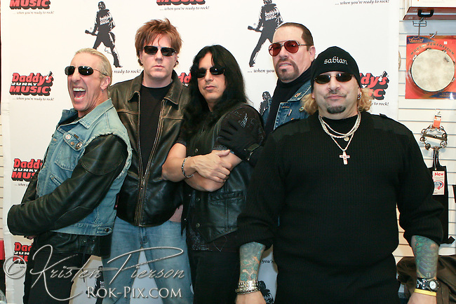 Twisted Sister at the Station Nightclub benefit concert.