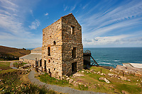 Engine houses of Levant Tin Mine, Cornwall