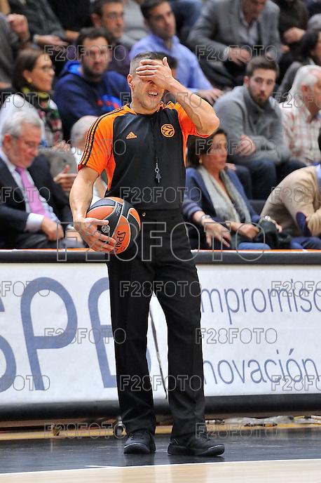 Latisevs<br /> Euroleague - 2014/15<br /> Regular season Round 7<br /> Valencia Basket vs Galatasaray