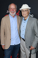 LOS ANGELES - AUG 7:  James Burrows, Norman Lear at the An Evening With Jimmy Kimmel at the Roosevelt Hotel on August 7, 2019 in Los Angeles, CA
