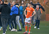 09/03/2019 Sky Bet League 1 Blackpool v Southend United<br /> <br /> Ollie Turton watches on as Blackpool fans take to the pitch in celebration